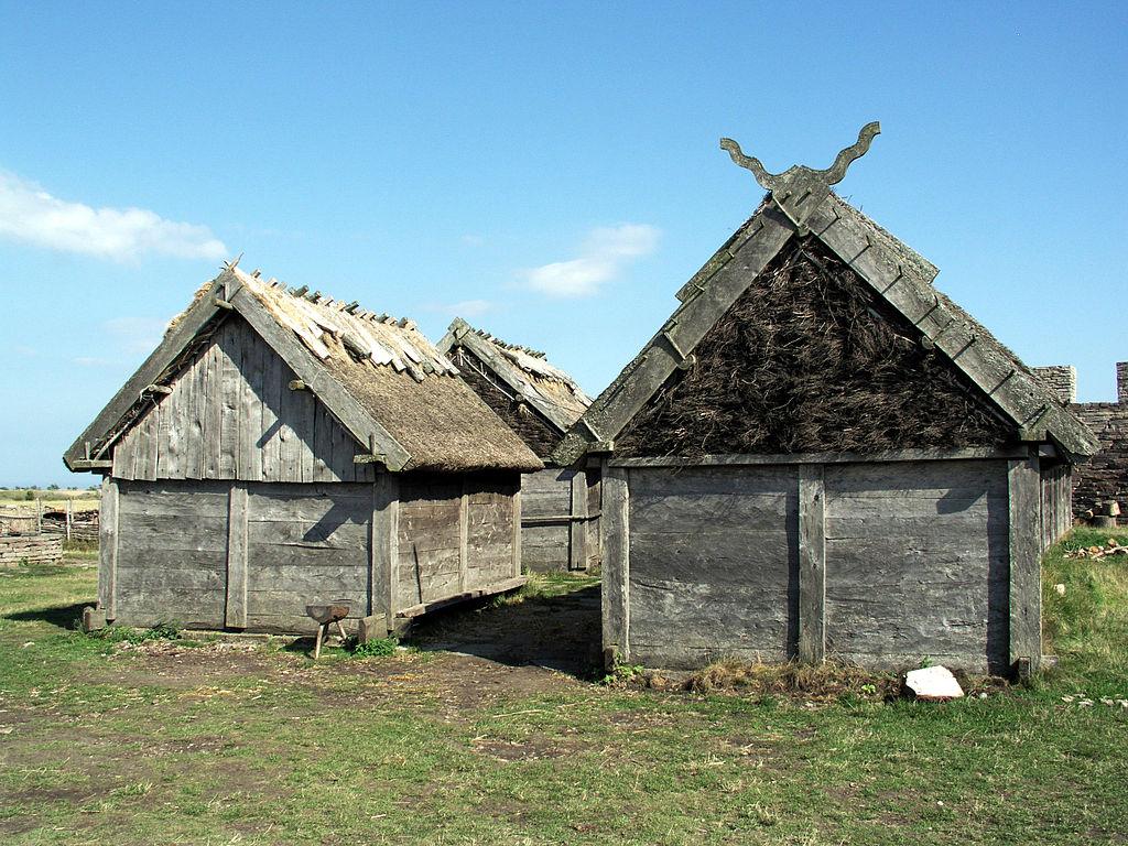 Eketorp ancient village. Island of Öland, Sweden.