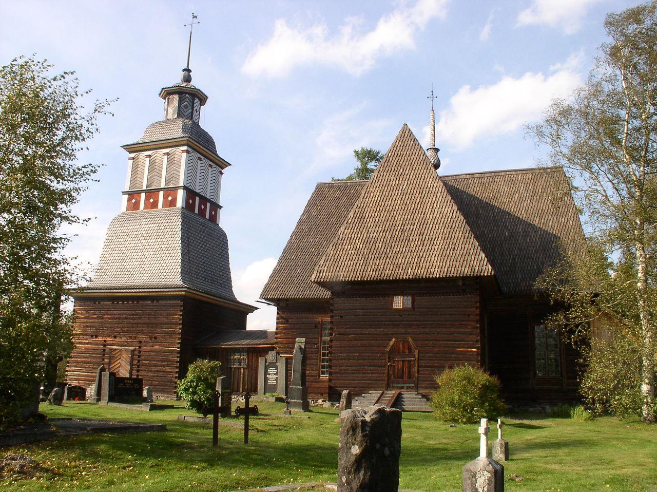 The Petäjävesi Old Church, Finland