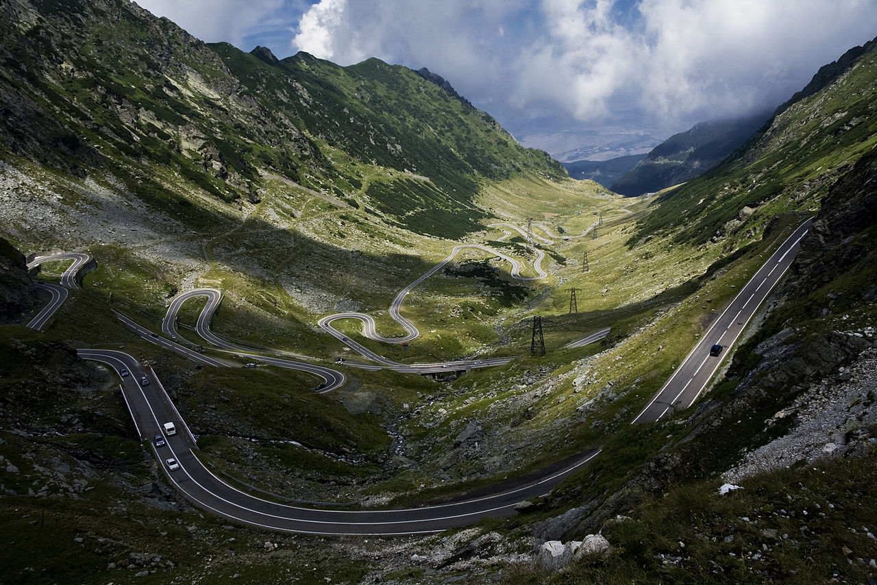 The Transfăgărășan Pass