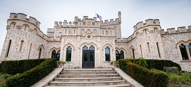 Day 3 – A chateau, our first campground, and an 8-course tasting menu