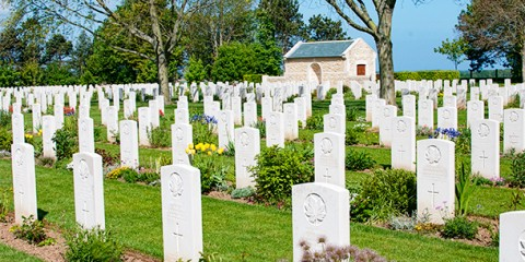Day 13 – Canadian War Cemetery at Reviers, France