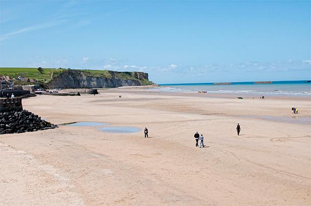Arromanches Beach, Normandy, France