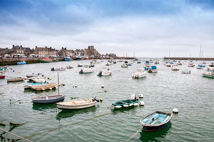 Pictuesque Barfleur, one of France's Plus Beaux Villages