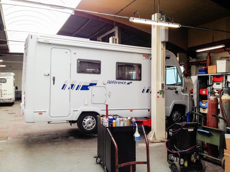 Repairs at Fiat in Wuustwezel