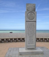 French Canadian Monument in Dieppe