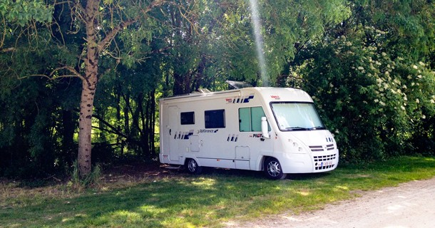 Day 27 – Overnight at Aire, Coulon, Poitou-Charents, France