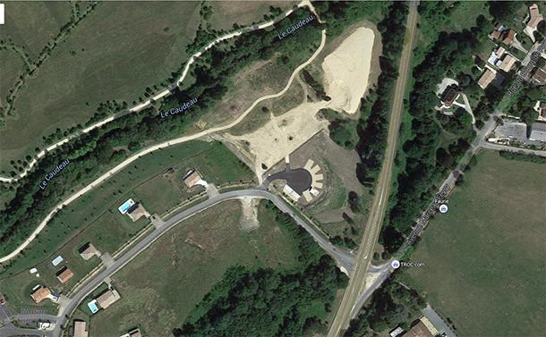 Aire Du Parc De Pombonne
