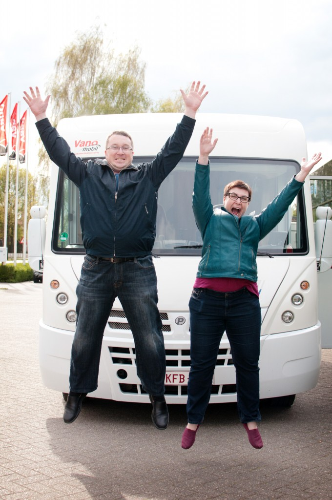 The Motorhome is Ours!