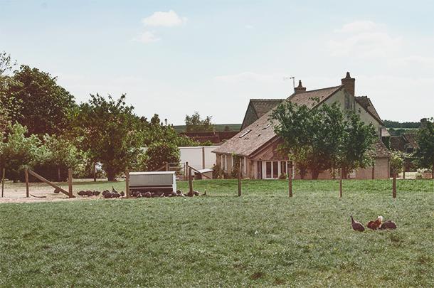 La Matairie, a farm in Villaines La Carelle