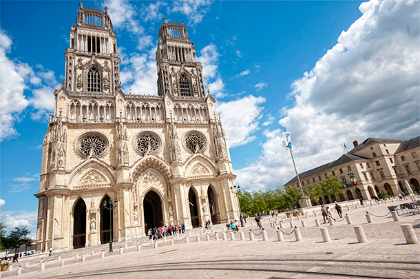 Guided tour of Orleans, Centre, France