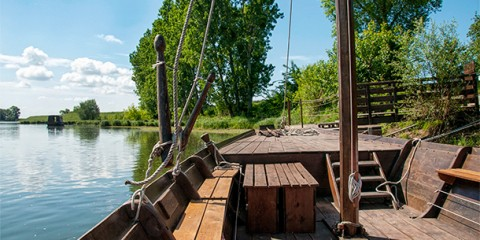 Day 23 – Boat tour with Passeurs de Loire, Sigloy, France