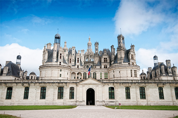 Chateau Chambord, Cheverny, France