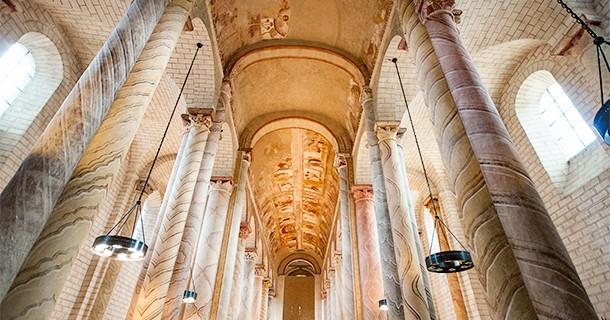 Day 25 – Visit to Abbey Church of Saint-Savin, Poitou-Charentes, France