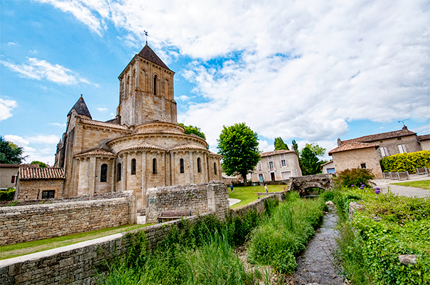 Saint Hillaire Church, Melle, France