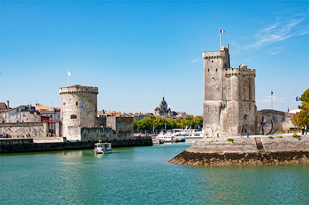 Guided Tour of La Rochelle, Poitou-Charentes, France