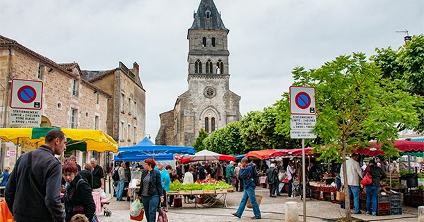 Day 31 – Visited Thiviers Market, Dordogne, France