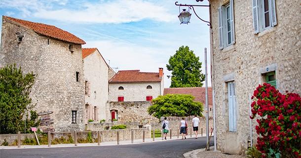Day 39 – Visit Plus Beau Village of Charroux, Auvergne, France