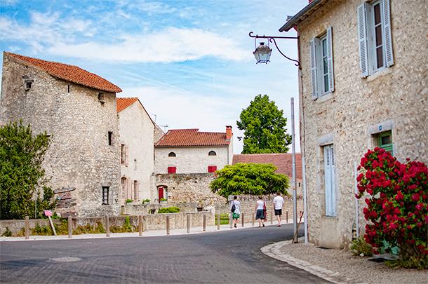 The Plus Beaux Village of Charroux, Auvergne, France