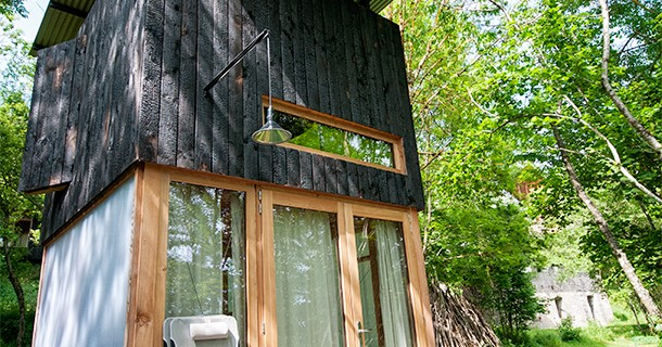 Day 39 – Overnight at Bois Basalte Cabins in Auvergne, France