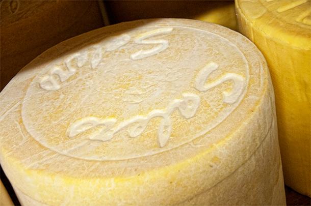 Grange de la Haute Vallee cheese farm, Murat, France