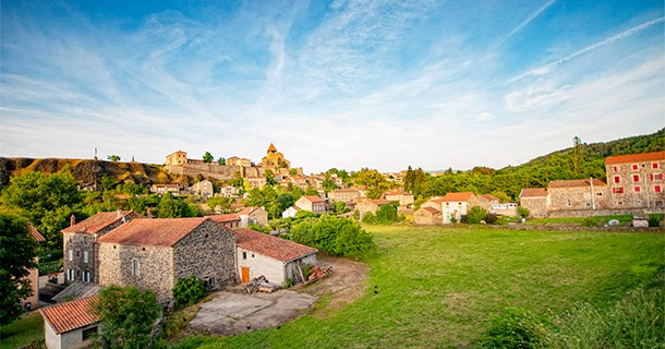 Day 43 – Overnight at Aire in Chanteuges, France