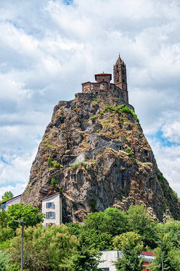 Visit the Chapel of Saint Michel d'Aighuilhe, Puy-en-Velay, France
