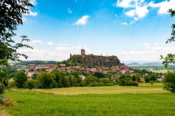 Fortresse de Polignac, Auvergne, France