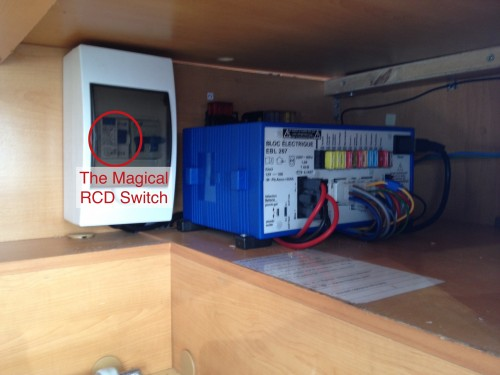 Amelia Electrical Control Box
