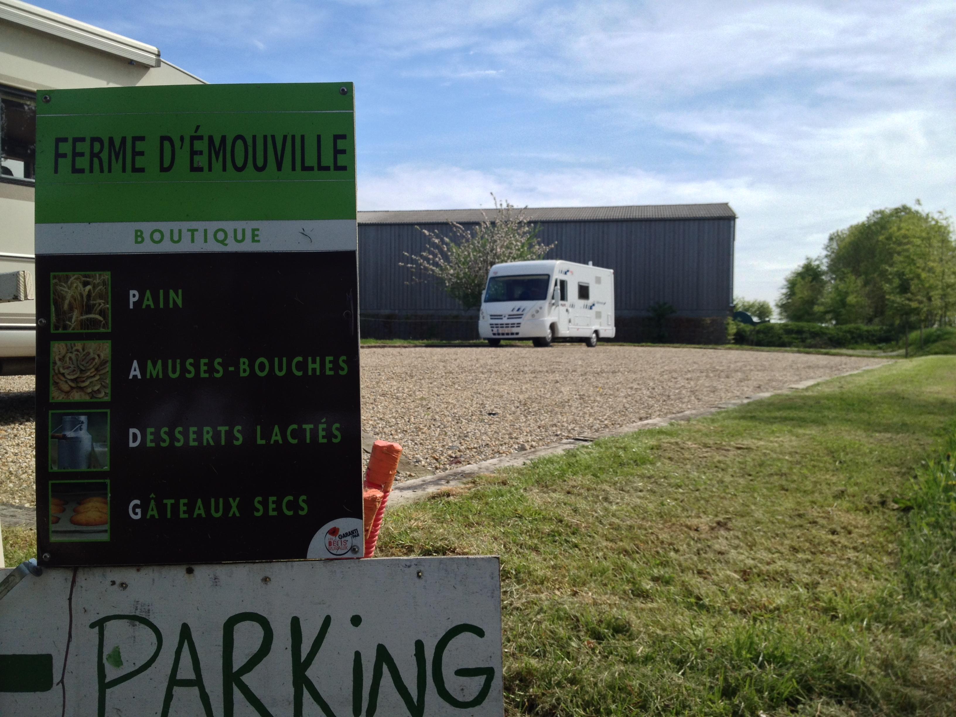 Amelia at Ferme d'Emouville