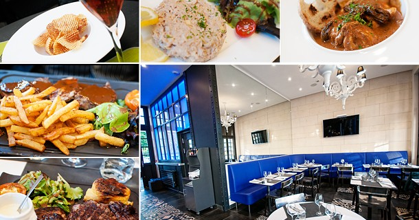 Day 22 – Dinner at Restaurant Jardin de la Pavillion, Orleans, France